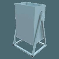 Купить Урна для мусора УГ-4 уличная металлическая опрокидывающаяся в Ростове-на-Дону