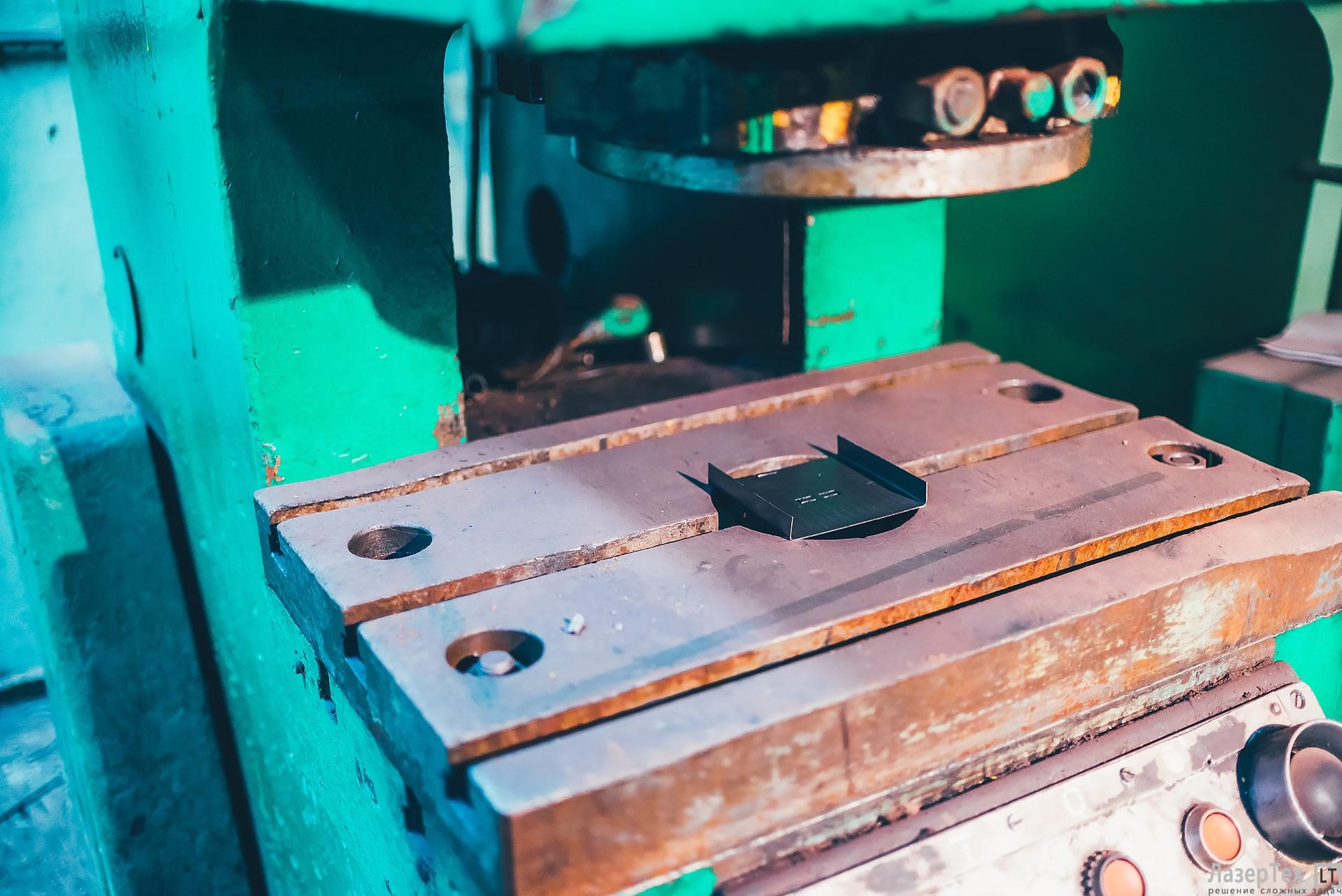 Штамповка металла на заказ