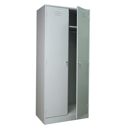 Металлический шкаф для гардероба