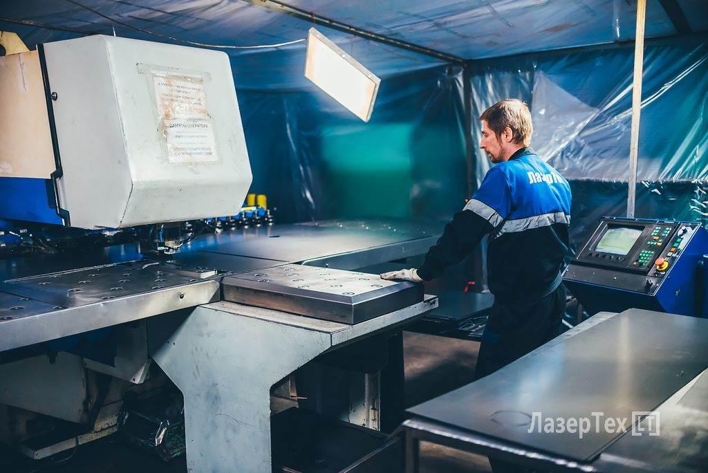 Штамповка металла Координатно-пробивные работы